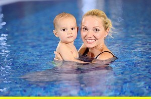 Parent Tot Swimming Lessons in Aurora, Illinois
