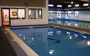 Indoor Pools at the DuPage Swimming Center